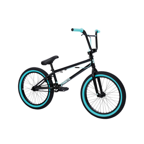 2021 Fit PRK Bike MD Black Teal Flake Complete BMX Bikes 2020