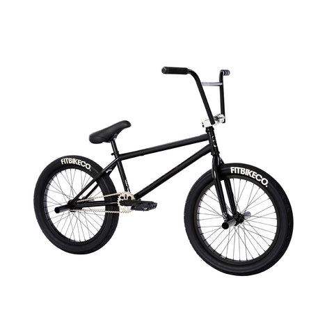 2021 Fit STR Bike gloss black Freecoaster Complete BMX Bikes MD 2020