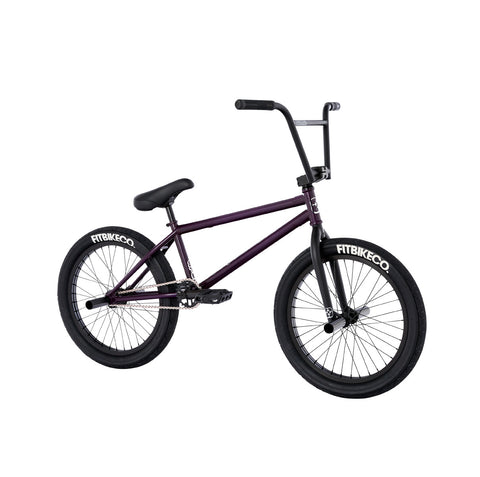 2021 Fit STR Bike trans matte purple Complete BMX Bikes LG Freecoaster 2020