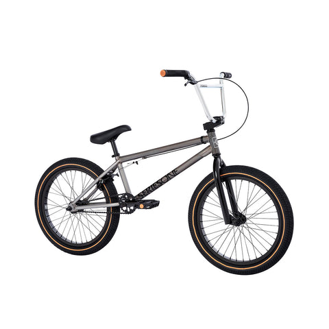 2021 Fit Series One Bike LG Gloss Clear Raw Complete BMX Bikes 2020