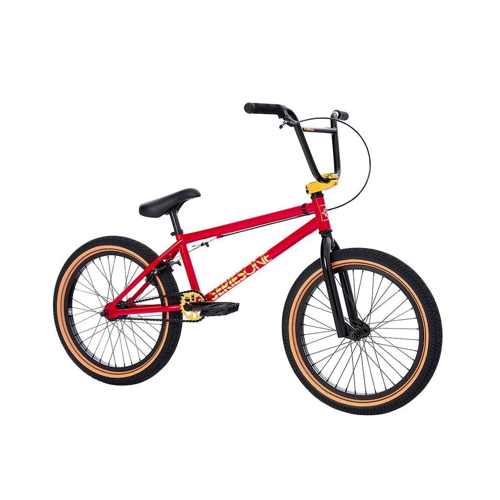 2021 Fit Series One Bike SM Gloss Red Complete BMX Bikes 2020