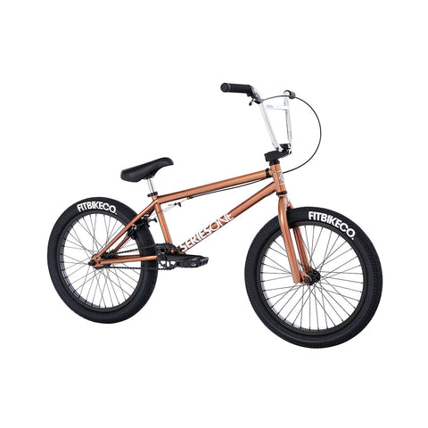 2021 Fit Series One Bike MD Root Beer Complete BMX Bikes 2020