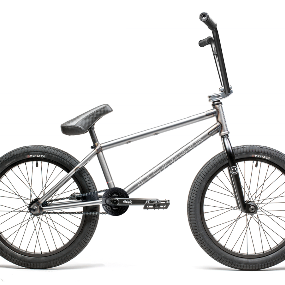 2021 Stranger Level Bike matte raw cassette Strangerco BMX Bikes 2020