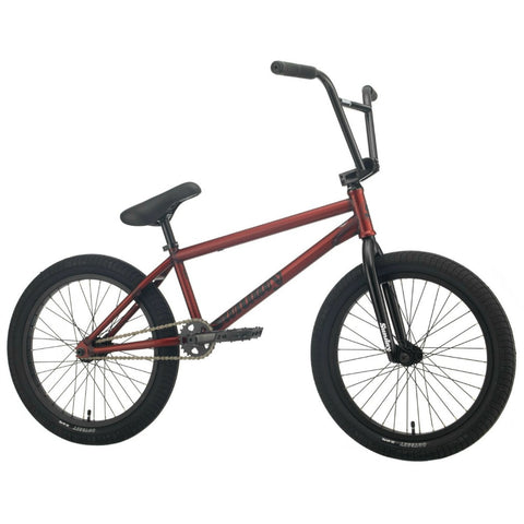 2021 Sunday EX Bike matte trans red Erik Elstran BMX Bike 2020 Freecoaster