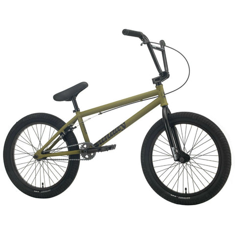 "2021 Sunday Primer 21"" Bike matte army green BMX Bikes 2020"