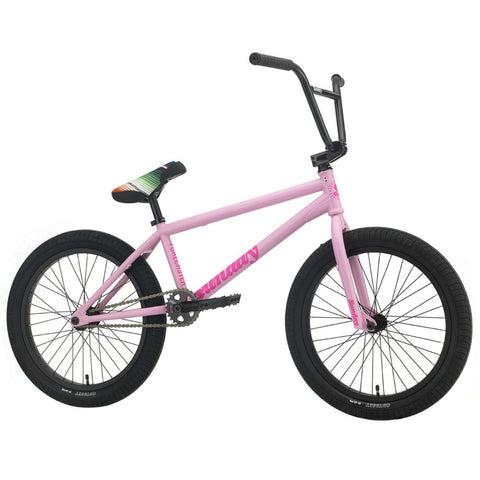 2021 Sunday Forecaster Bike matte pale pink Aaron Ross BMX Bikes Freecoaster 2020