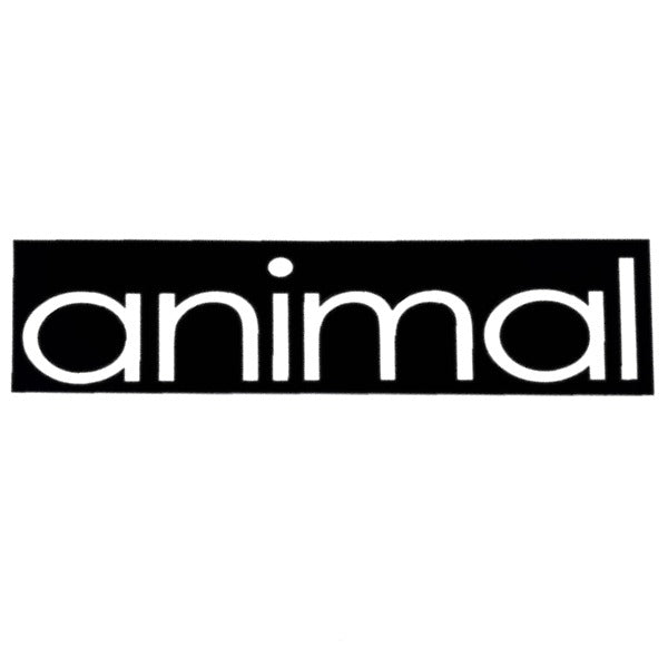 Animal Frame Sticker black BMX Stickers