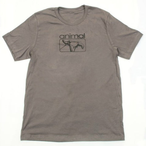 Animal Red Eye Shirt grey BMX Tee
