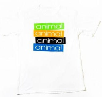 Animal Stick 'Em Shirt white BMX Tee