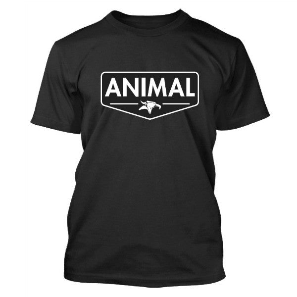 Animal Emblem Tee black shirt