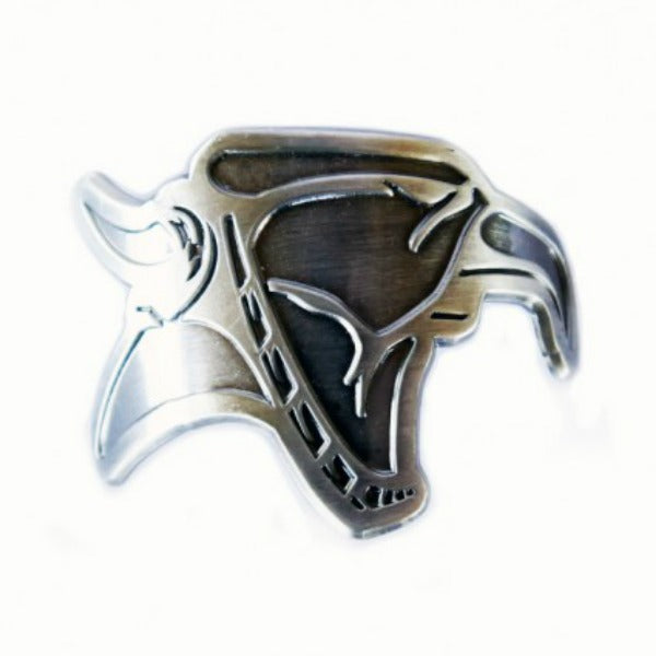 Animal Head Tube Badge BMX