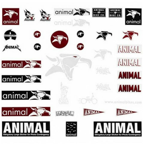 Animal Bikes Sticker Pack BMX