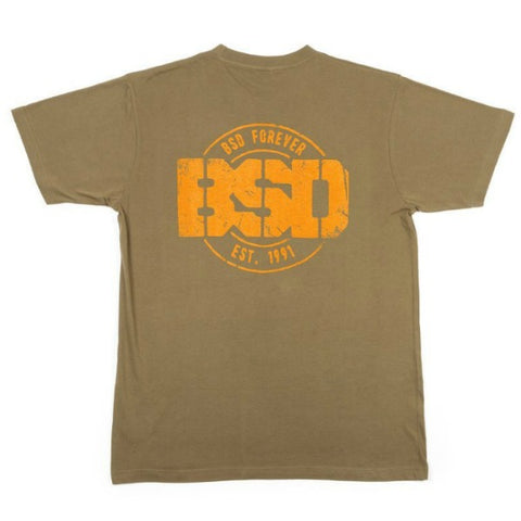 BSD Established Shirt surplus green BMX Tee