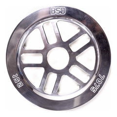 BSD Guard Sprocket polished silver