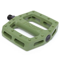 BSD Jonesin' Pedals surplus green BMX Pedal