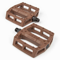 BSD Safari Pedals chocolate brown