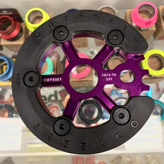 Odyssey Utility Pro Guard Sprocket purple BMX
