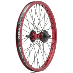 Cinema ZX Rear Cassette Wheel red BMX Wheels