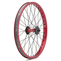 Cinema ZX Front Wheel red BMX Wheels