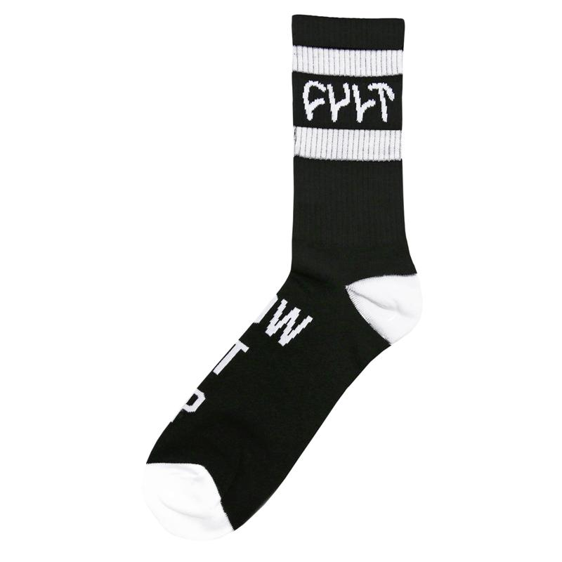 Cult Burn It Down Socks BMX Sock black