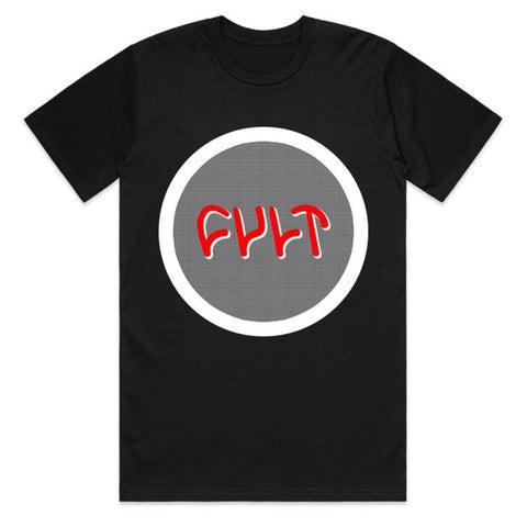 Cult Circle Logo Shirt black BMX tee