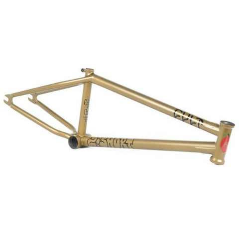 Cult 2 Short Frame gold BMX anthony panza