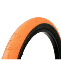CUlt AK Tire orange BMX tires