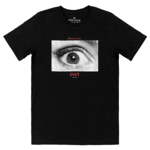 Cult All Eyes Shirt black BMX Tee
