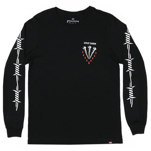 Cult Dehart Long Sleeve Tee BMX Shirt