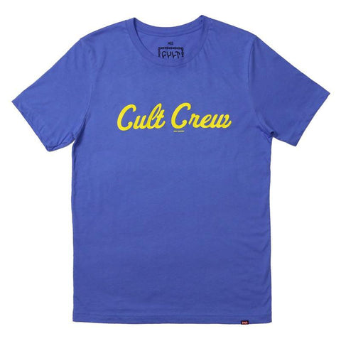Cult Foley Shirt blue BMX Tee