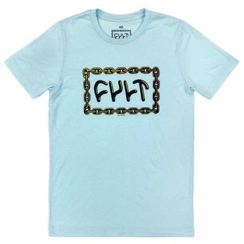 Cult For Life Shirt light blue BMX Tee