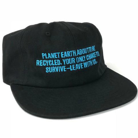 Cult Recycled Earth Cap Black