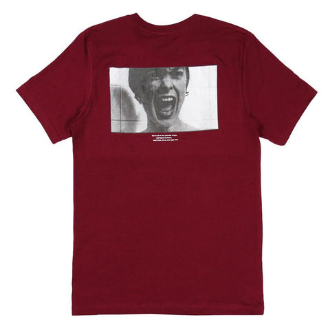 Cult Sicko Shirt burgundy BMX Tee