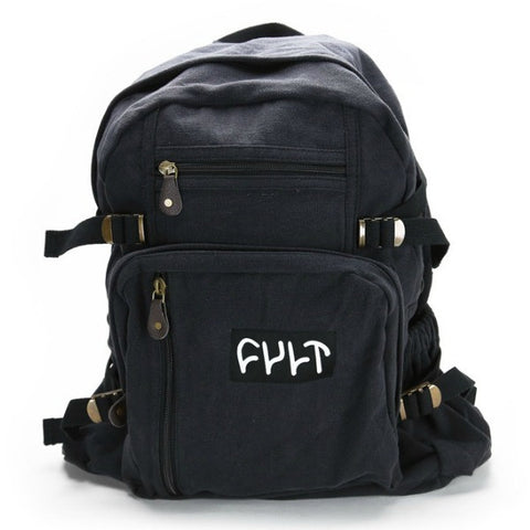 Cult Supply Bag Backpack black