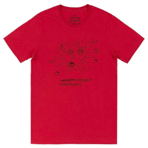 Cult Ur Perfect Shirt red BMX Tee