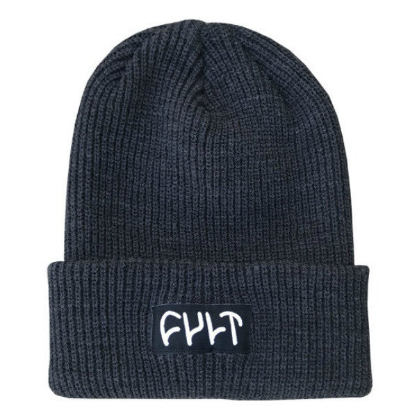 Cult Witness Beanie charcoal grey
