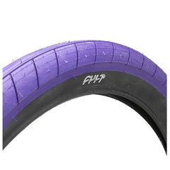 "Cult Dehart 2.4"" Slick Tire purple"