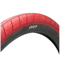 "Cult Dehart 2.4"" Slick Tire red"