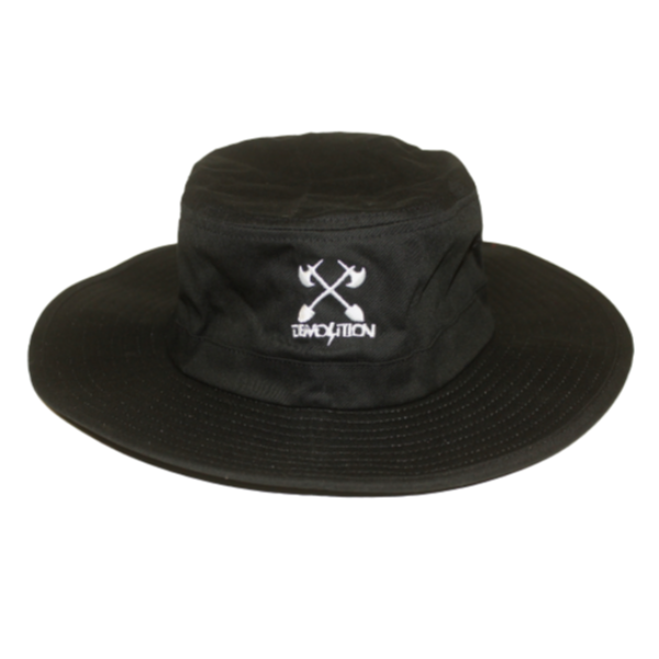 Demolition Axes Spades Safari Hat black BMX Bucket Hat