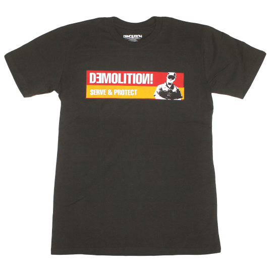 Demolition Serve & Protect Tee BMX Shirt