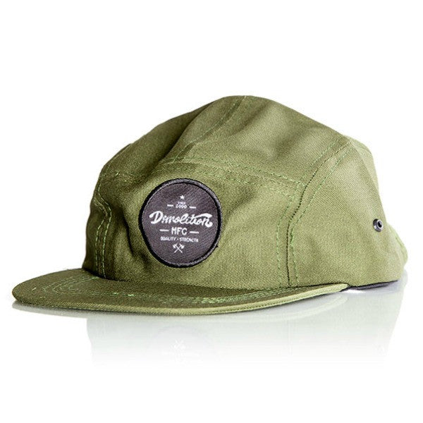 Demolition MFG Camper Hat green