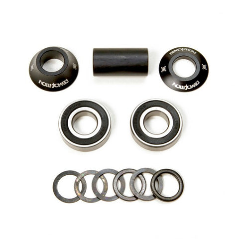 Demolition Mid Bottom Bracket black BMX