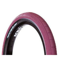 Demolition Momentum Tire maroon burgundy