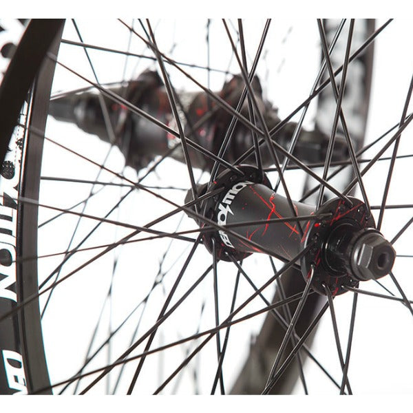 Demolition Rotator V3 Wheel red splatter BMX Freecoaster