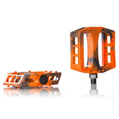 Demolition Trooper PC Pedals orange black