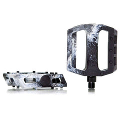 Demolition Trooper PC Pedals white black