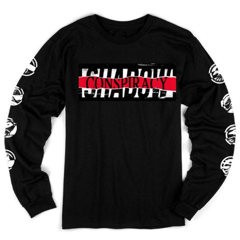 Shadow Conspiracy Distorted Long Sleeve Shirt BMX Tee
