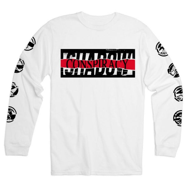 Shadow Conspiracy Distorted Long Sleeve Shirt white