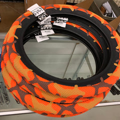Cult Vans Tire orange camo BMX Tires