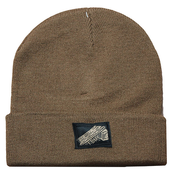 FBM Ramp Beanie Brown BMX